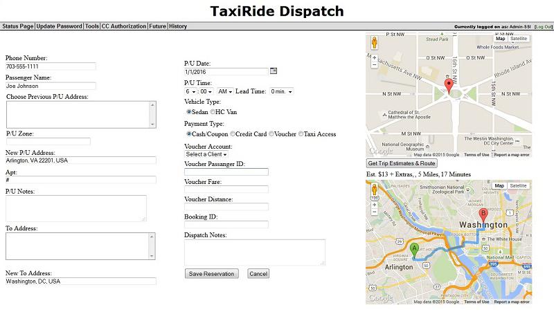 Solutions   TaxiRide Fleet Management Software
